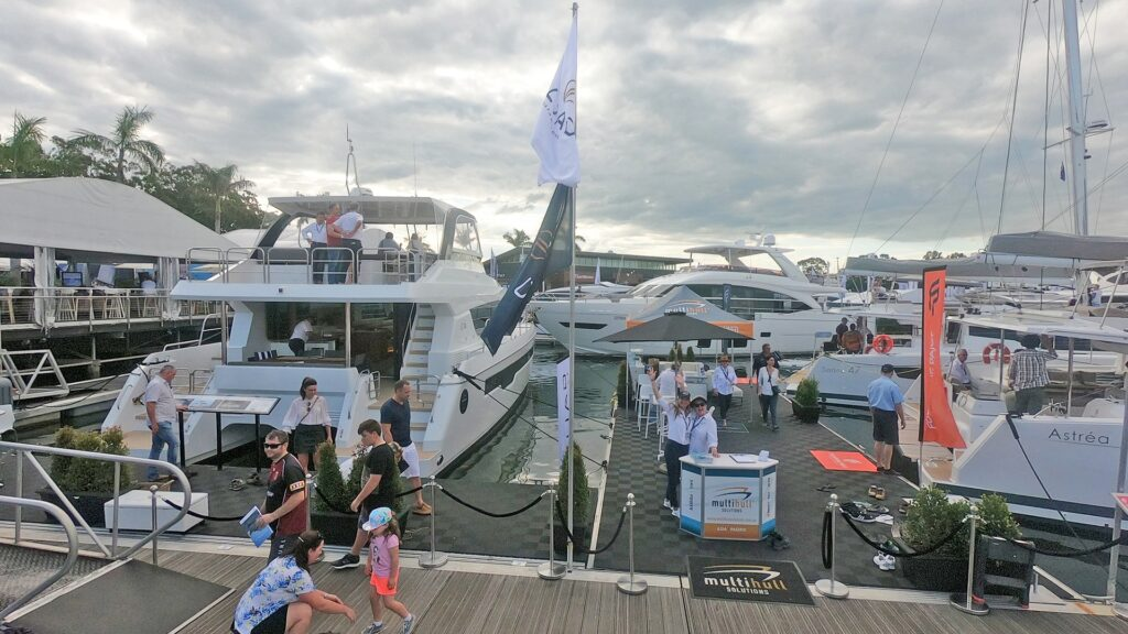 Multihull Solutions Enjoys Record Success at 2019 Sanctuary Cove International Boat Show - ILIAD Catamarans