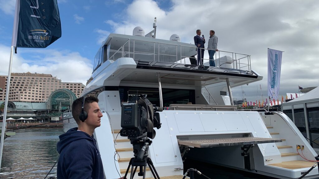 Multihull Solutions awash with success at 2019 Sydney International Boat Show - ILIAD Catamarans