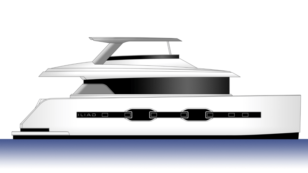Iliad Power Catamaran Render Diagram-min