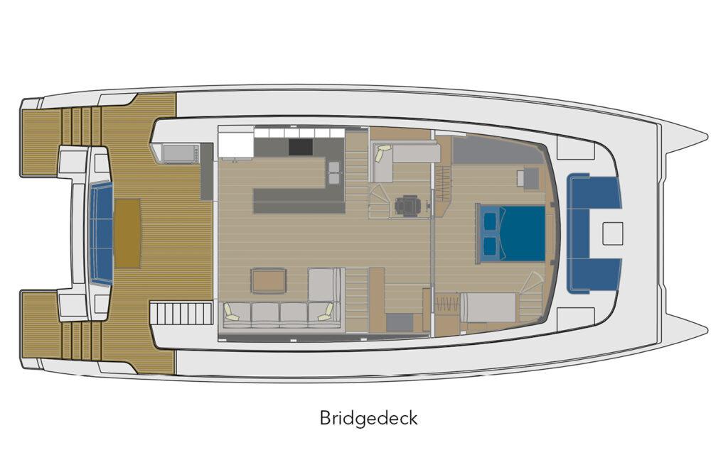 70 Bridgedeck layout