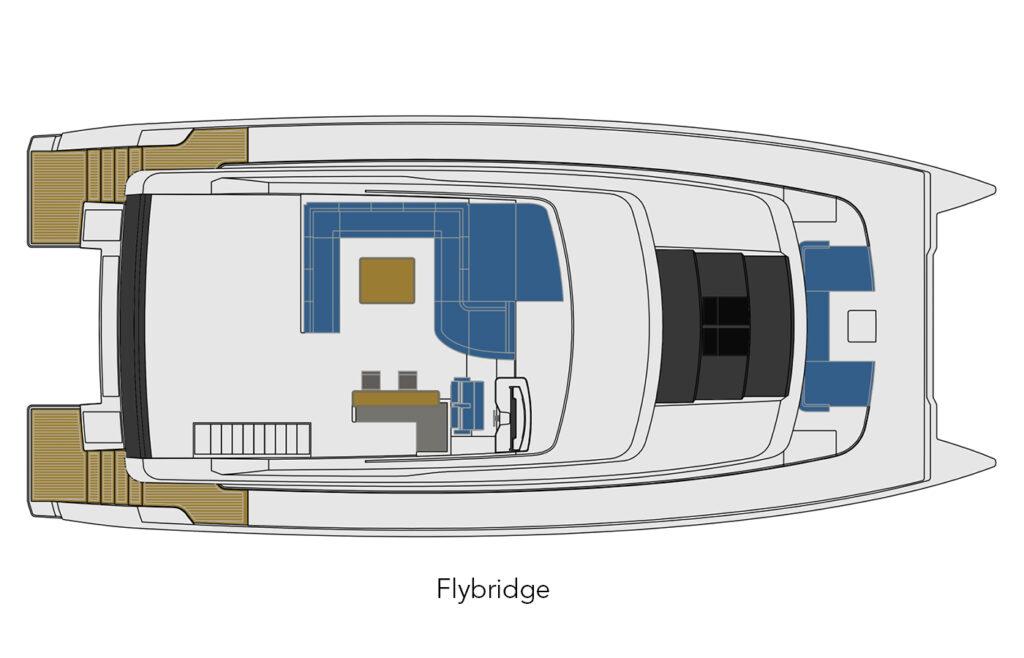 70 Flybridge layout